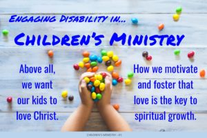 Children's Ministry Tip Number One Picture
