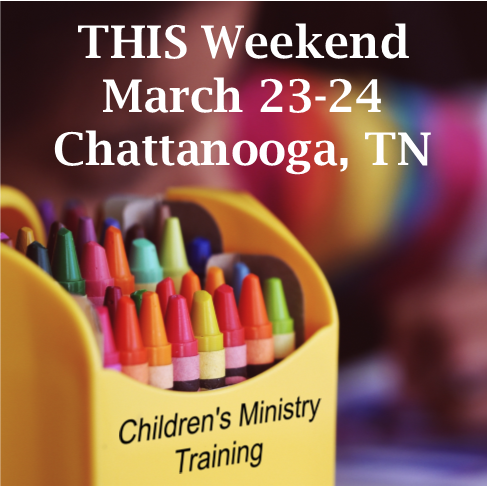 Upcoming Children's Ministry Training