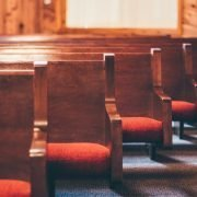 pews in a church