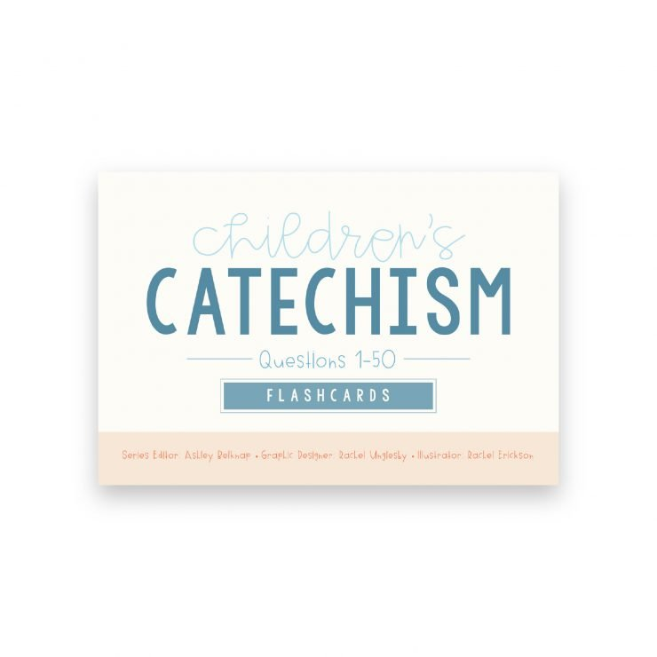 Children's Catechism Flashcards Volume 1 Image