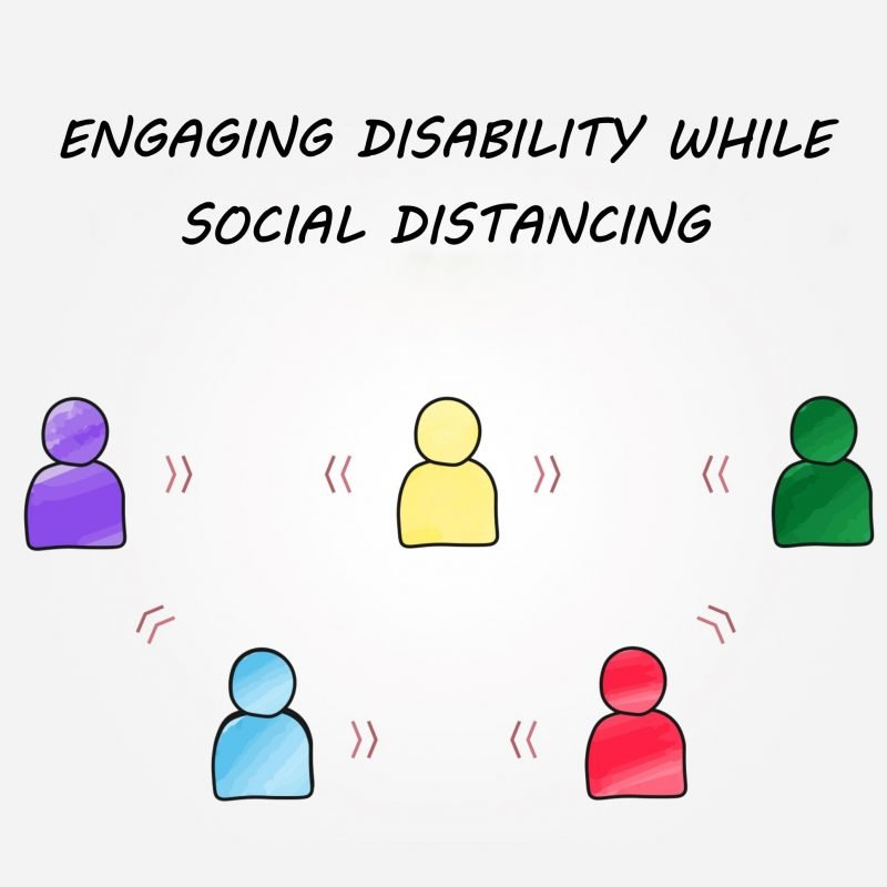 Engaging while social distancing image
