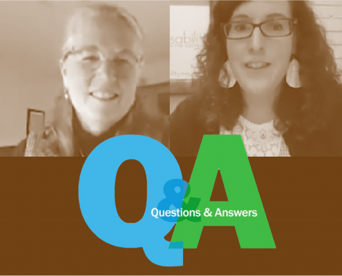 Q&A between Stephanie Hubach and Ashley Belknap