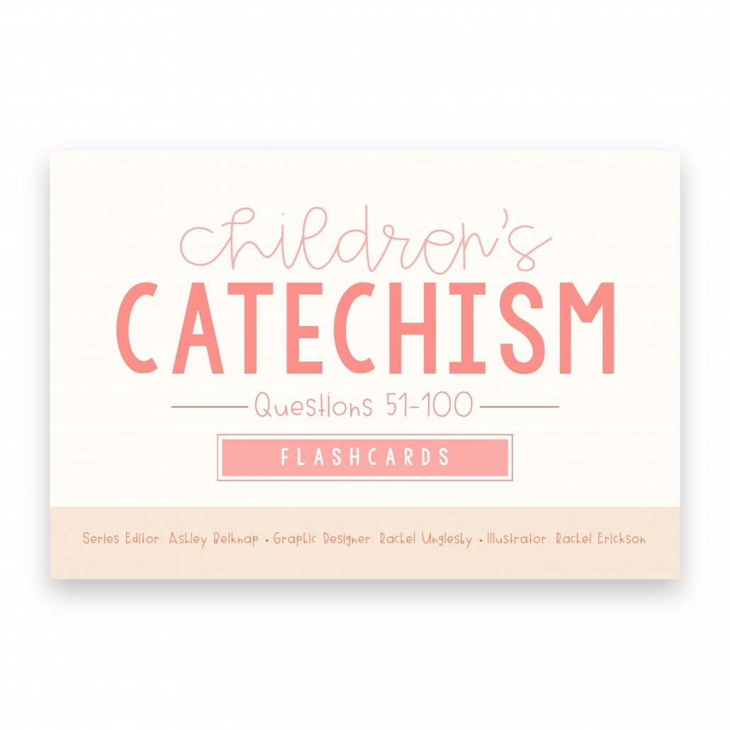 cover of the Children's Catechism Flashcards 51-100