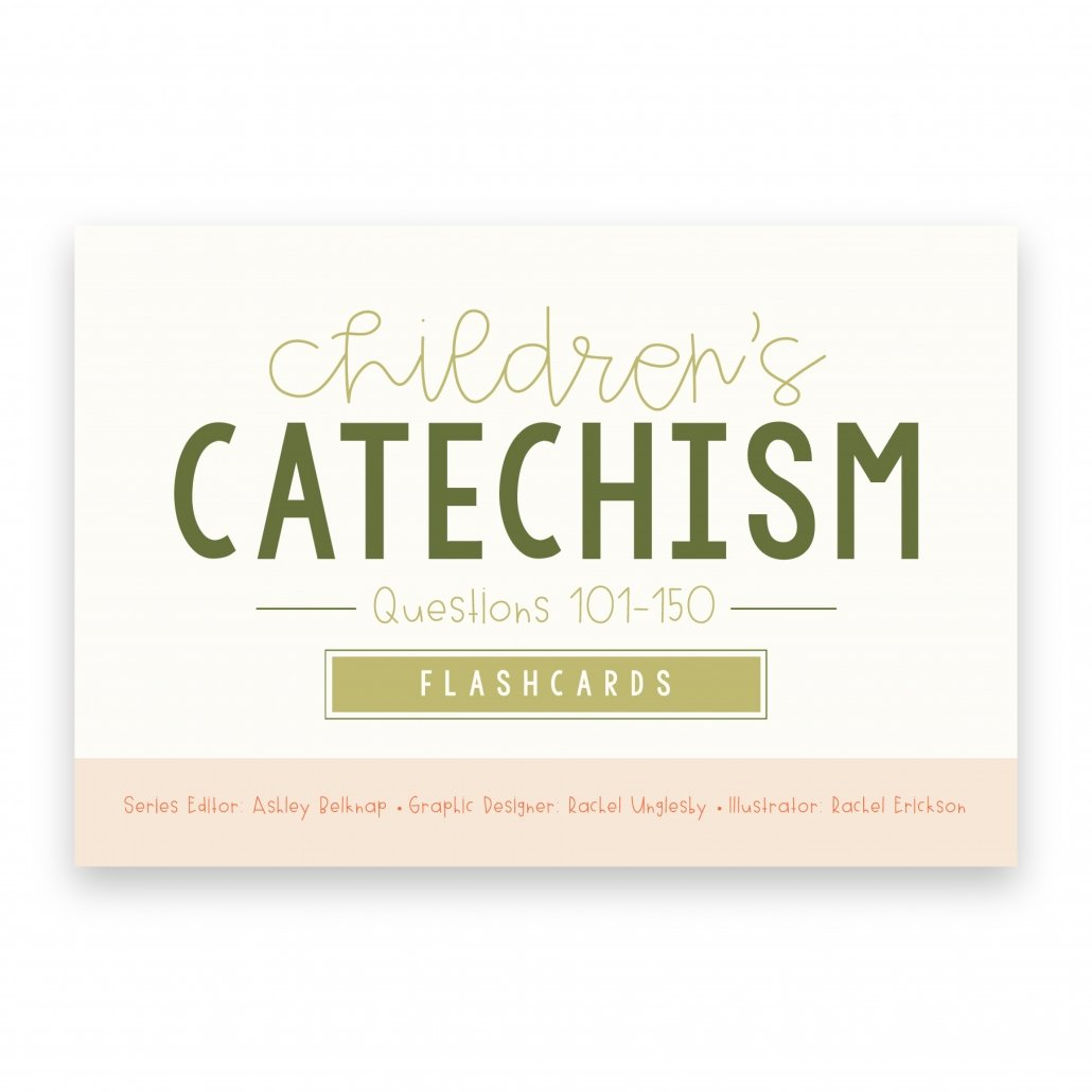 cover of the Children's Catechism Flashcards 101-150