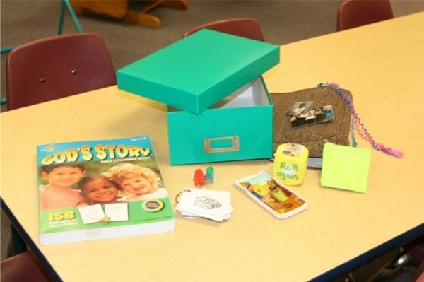 Discovery box and all the items contained in one