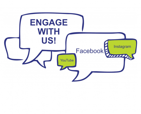 Engage with Engaging Disability on our social media
