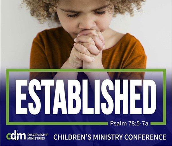 title slide of Established Conference