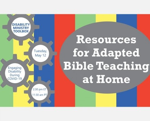 title slide for the Resources for Teaching Bible at Home online training