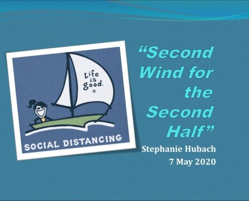 title slide for Second Wind for the Second Half online training