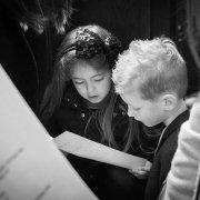 kids singing at church