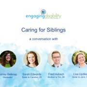 Caring for Siblings Webcast image